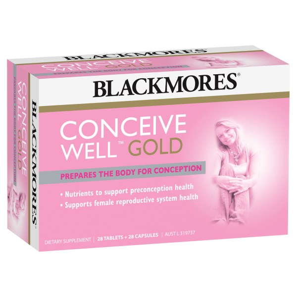 Blackmores Conceive Well Gold 56 Pack 10