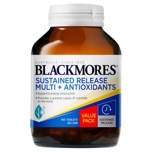 Blackmores Sustained Release Multi + Antioxidants 180 Tablets
