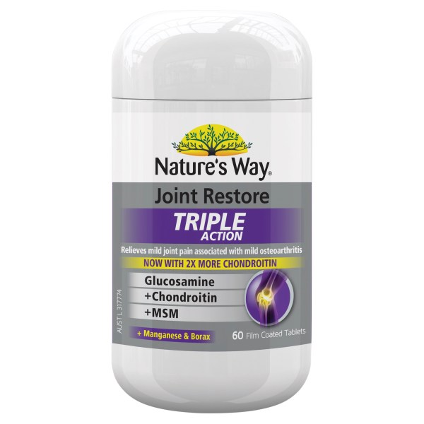 Nature's Way Joint Restore Triple Action Tablets 3