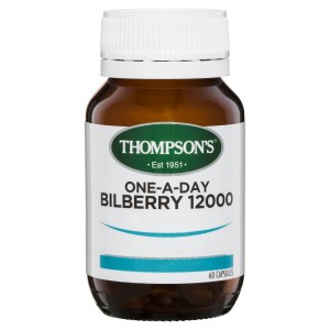 Thompson's One-A-Day Bilberry 12000mg 60 Capsules 3