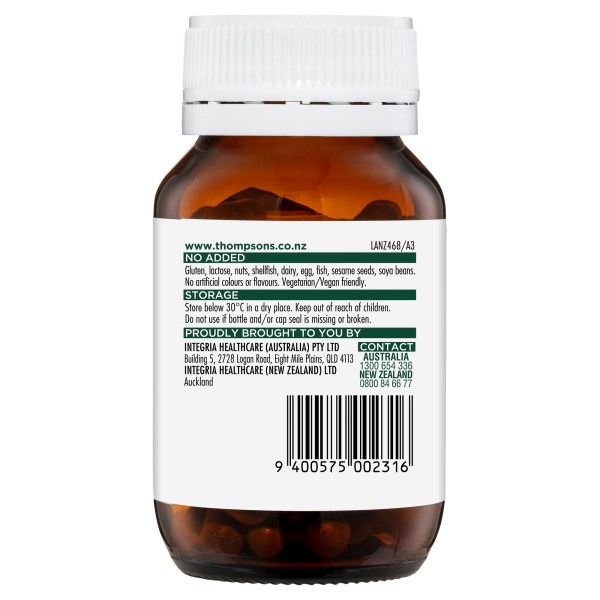 Thompson's One-a-day Hawthorn 2000mg 60 caps 5