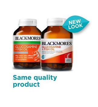 Blackmores Glucosamine + Fish Oil 90 Capsules (OOS CHECKED 17/07 – POWELL) 9