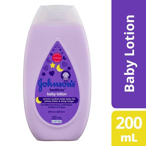 Johnson's Bedtime Baby Lotion 200mL 3