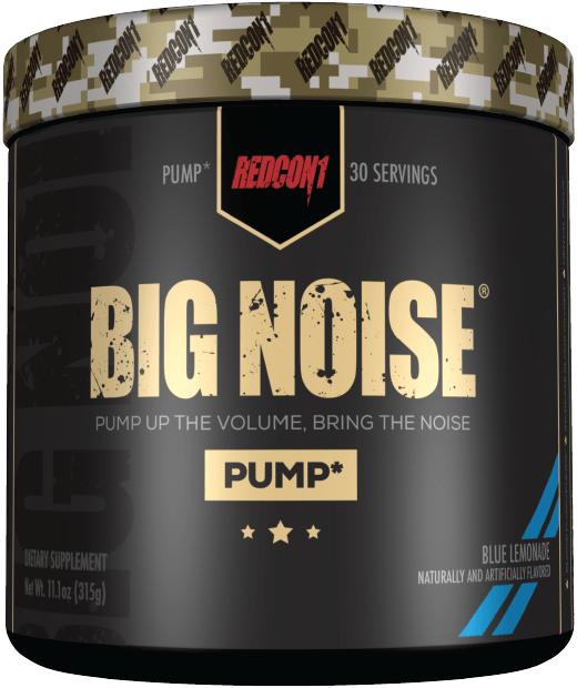 Redcon1 Big Noise Pump Formula 30 Serves 3