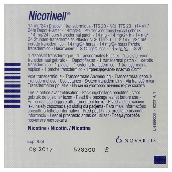 Nicotinell Patch 14mg 4