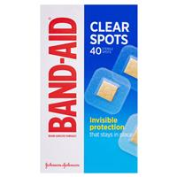 Band-Aid Clear Spots 40 Pack 4