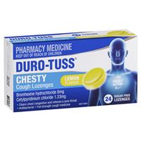 Duro-Tuss Chesty Cough Lozenges 24