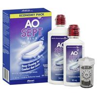 AoSept Plus Economy Pack 360ml and 90ml 3
