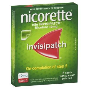 Quit Smoking Invisipatch 10mg 7 Patches