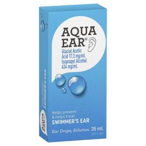 Aquaear Swimmer's Ear Drops 35mL 3