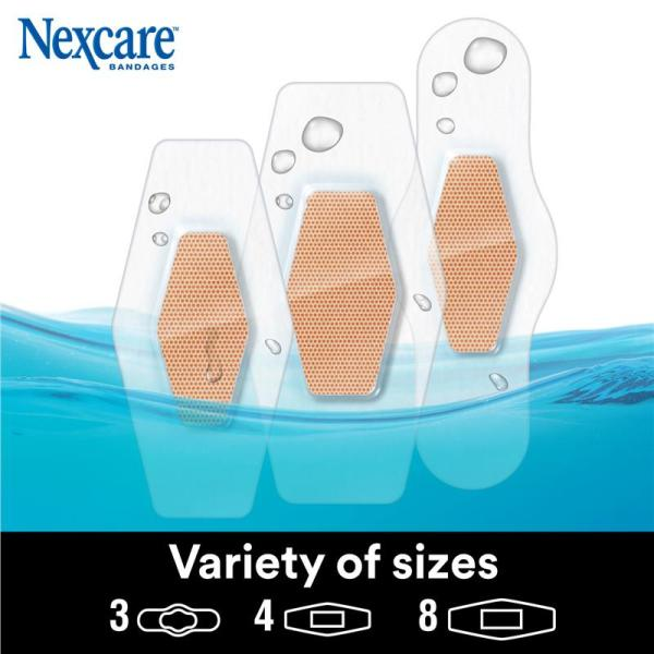 Nexcare Max Hold Strips 15 Assorted 7