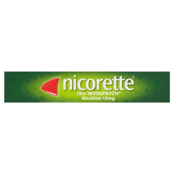 Nicorette Quit Smoking 16hr Invisipatch 15mg 8