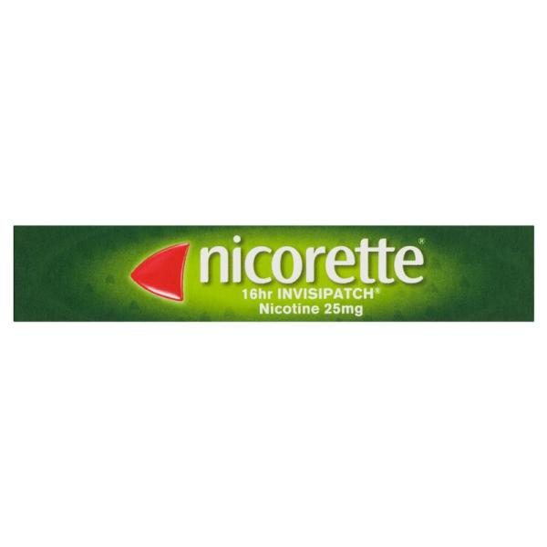 Nicorette Quit Smoking Invisipatch Step 25mg 7 Pack 7