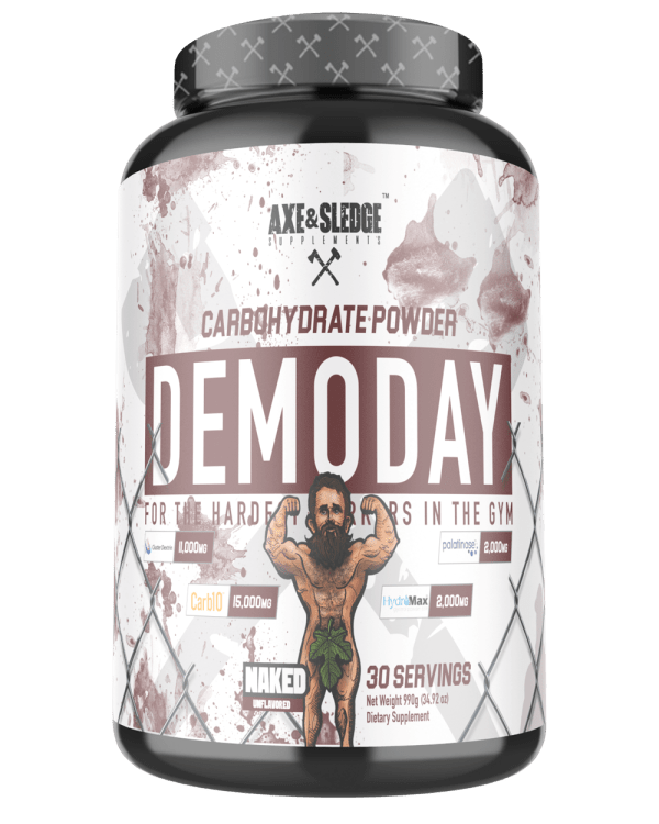 Axe & Sledge Demo Day Carbohydrate Powder 30 Serves