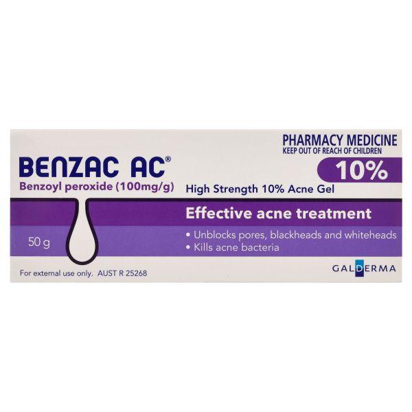 Benzac AC 10% Gel 50g 3