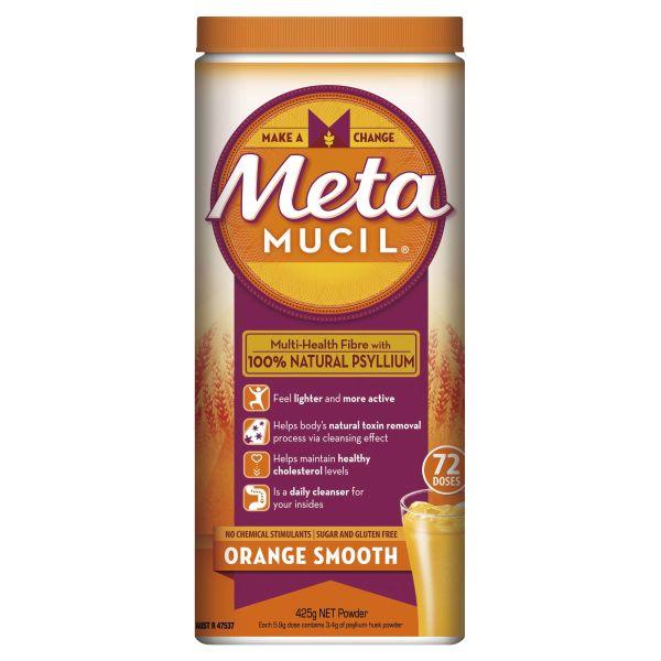 Metamucil Daily Fibre Supplement Smooth Orange 72 Doses 3