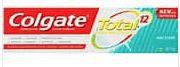Colgate Total Mint Stripe Antibacterial & Fluoride Gel Toothpaste 115g 3