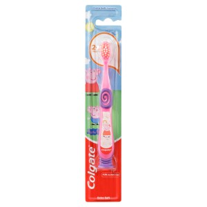Colgate Peppa Pig Extra Toothbrush for Children 2-5 Years