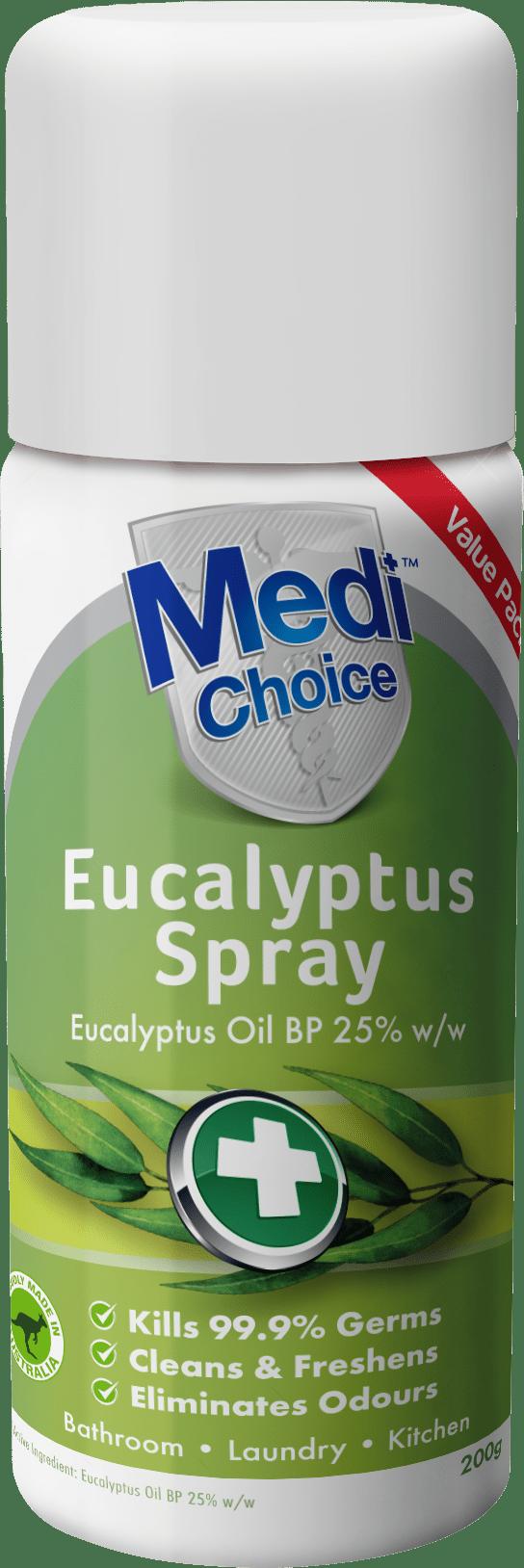MediChoice Eucalyptus Spray 200ml 3