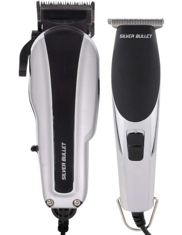 Silver Bullet Dynamic Duo Hair Trimmer and Clipper Set 3