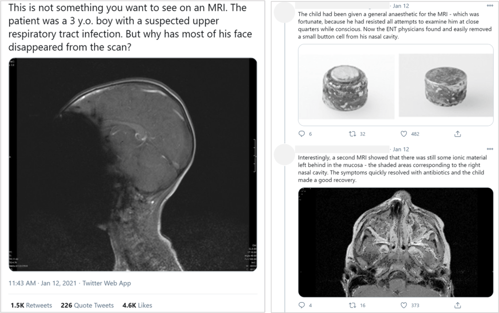 medical twitter example
