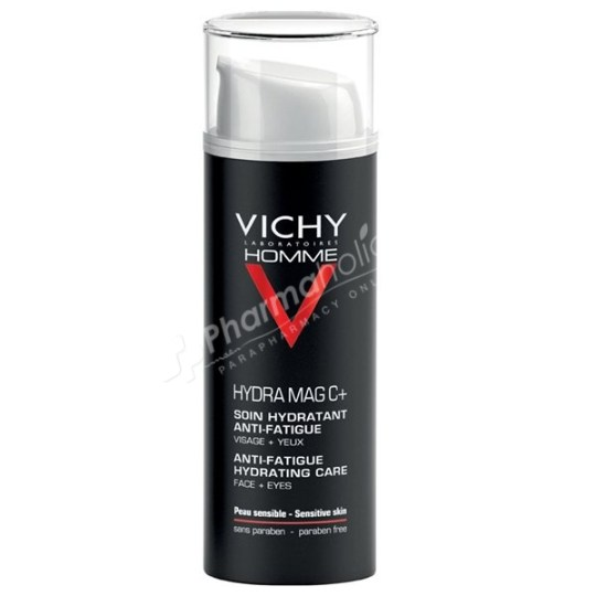 Vichy Homme Hydra Mag C+ Anti-Fatigue Hydrating Care -50ml-