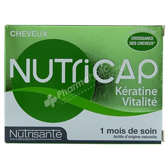 Nutricap Keratin Vitality -30 Capsules-