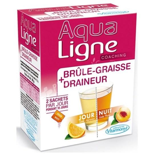 Aqua Ligne brule Graisse + Draineur