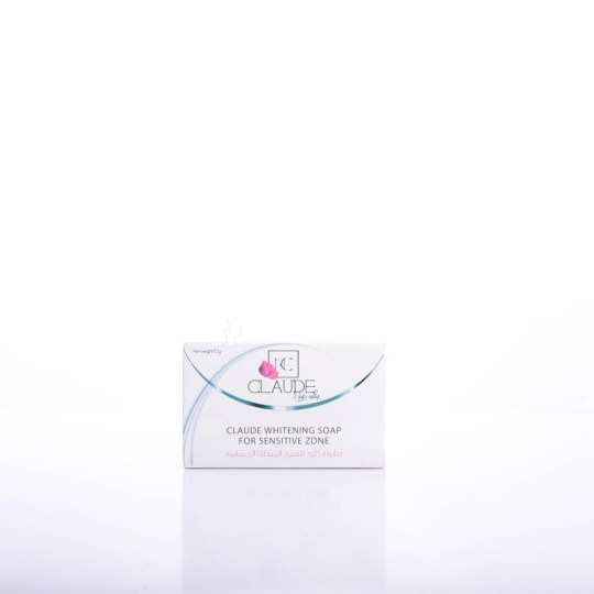 Claude Whitening Soap for Sensitive Zones