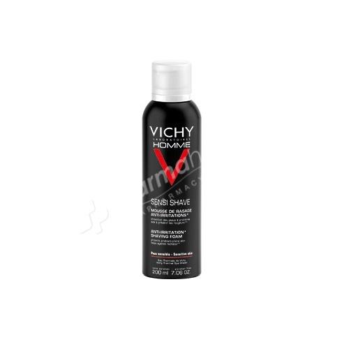 Vichy Homme Anti-Irritation Shaving Foam -200ml-