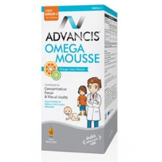 Advancis Omega Mousse Orange-Lime Flavour