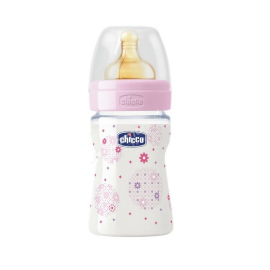 Chicco Well-Being Feeding Bottle 0m+