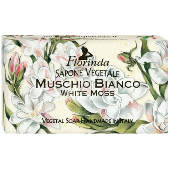 Florinda Vegetal Soap White Moss