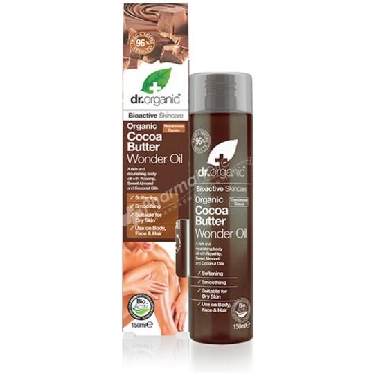 Dr.Organic Organic Cocoa Butter Wonder Oil