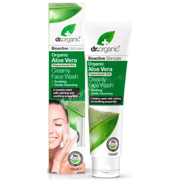 Dr.Organic Aloe Vera Creamy Face Wash