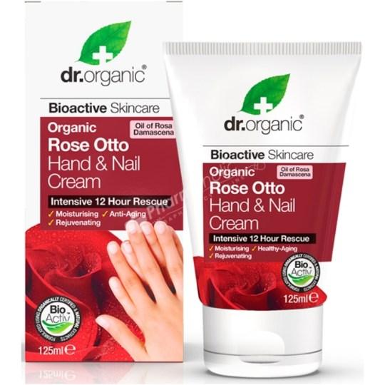 Dr.Organic Organic Rose Otto Hand & Nail Cream