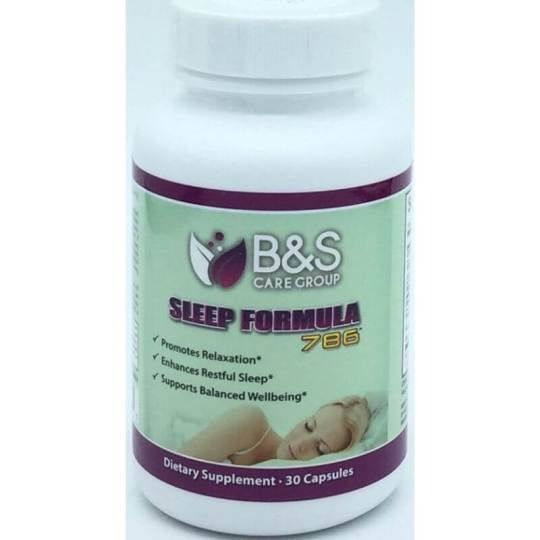 B&S Sleep Formula 786