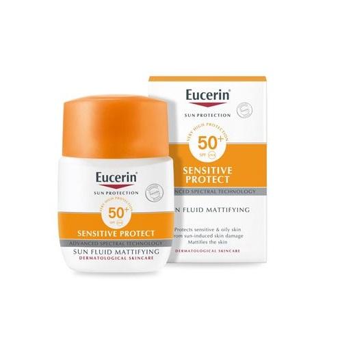 Eucerin Sensitive Protect Sun Fluid Mattifying SPF 50+