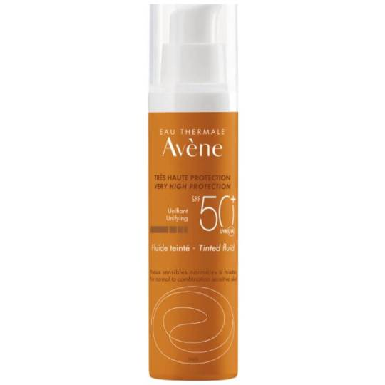 Avene Tinted Fluid Sunscreen