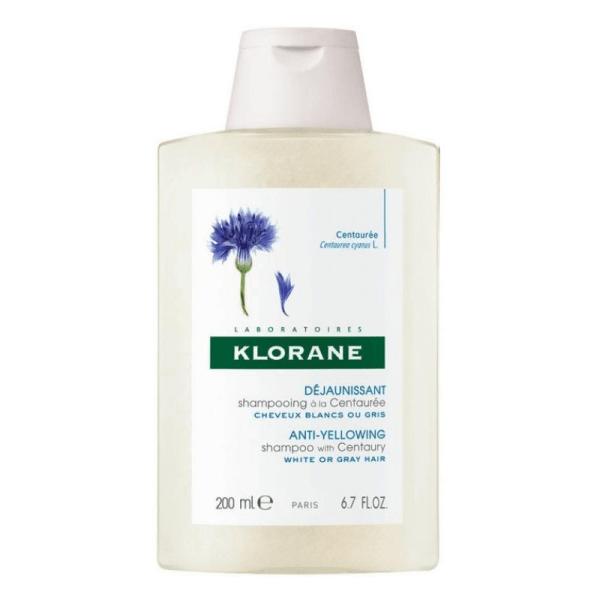 Klorane Anti-Yellowing Shampoo with Centaury