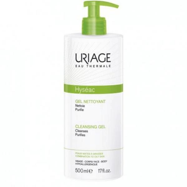 Uriage Hyseac Cleansing Gel 500ml