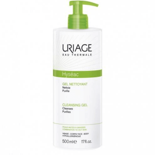 Uriage Hyseac Cleansing Gel 500ml