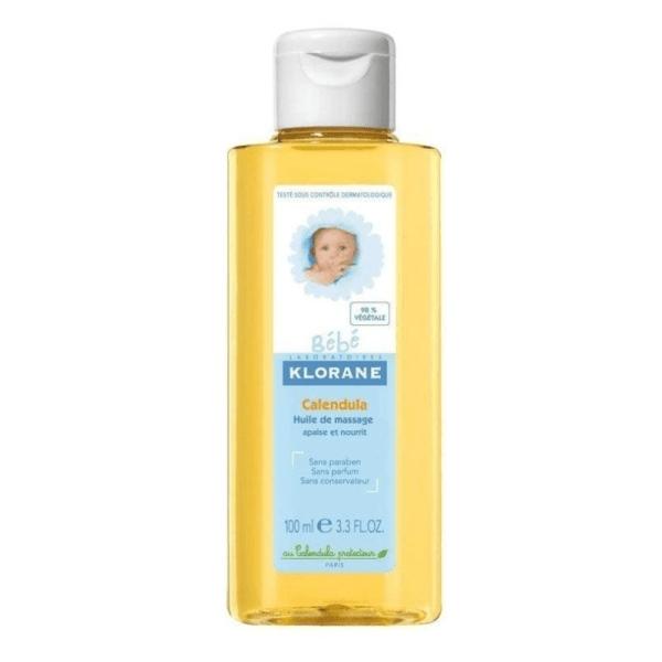 Klorane Baby Massage Oil with Calendula