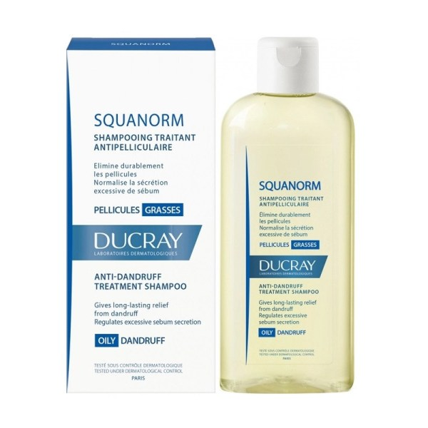 Ducray Squanorm Anti-Dandruff Shampoo Oily