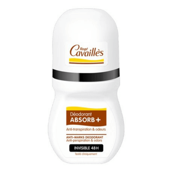 Roge Cavailles Absorb+ Invisible Roll-on 48H 50ml