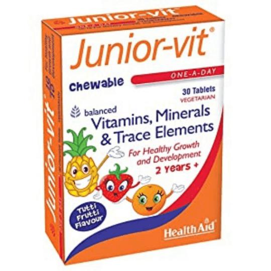 HealthAid Junior-vit Chewable 30 Tablets