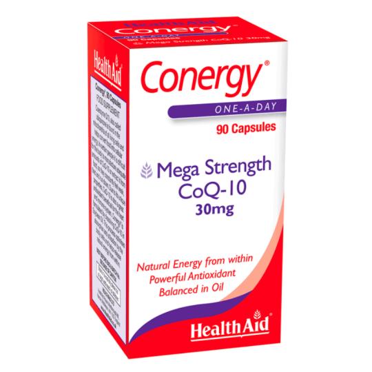 HealthAid Conergy CoQ10 Capsules