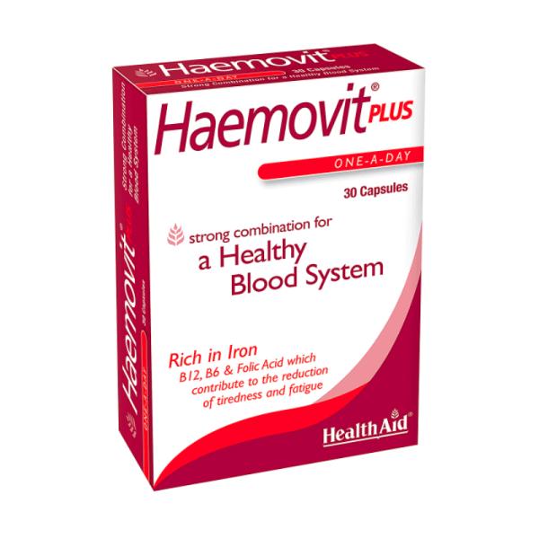 HealthAid Haemovit Plus 30 Capsules