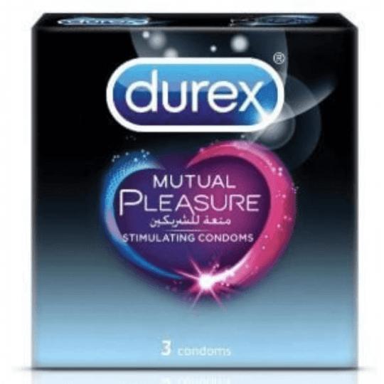 Durex Mutual Pleasure 3 Condoms