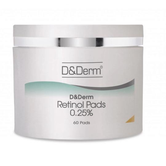 D&Derm Retinol Pads 0.25% 60 Pads